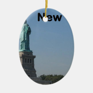 USA NEW YORK State of Liberty (new) (St.K) Christmas Ornament