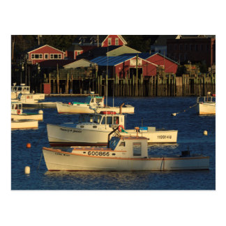 USA, North America, Maine, Bernard, Fishing Postcard