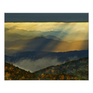 USA, North Carolina, Great Smoky Mountains. Poster