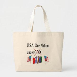 USA Obama Canvas Bag