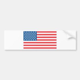 USA Official Flag Bumper Sticker