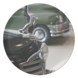 USA, Ohio, Dayton: America's Packard Museum Dinner Plate