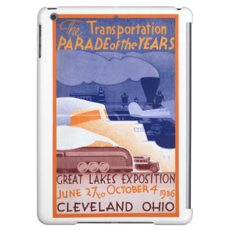 USA Ohio Expo Vintage Poster Restored