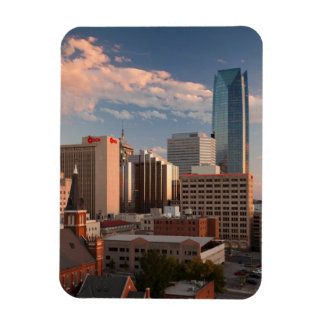 USA, Oklahoma, Oklahoma City, Elevated City Magnet