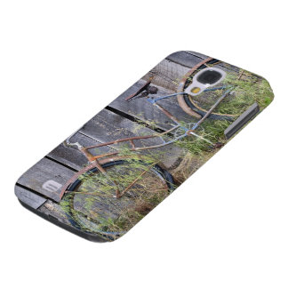 USA, Oregon, Bend. A dilapidated old bike Samsung Galaxy S4 Case