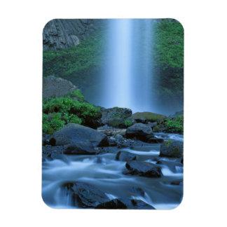 USA, Oregon, Columbia Gorge, Latourell Falls Rectangular Photo Magnet