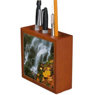 USA, Oregon, Fairy Falls, Columbia River Gorge Pencil Holder