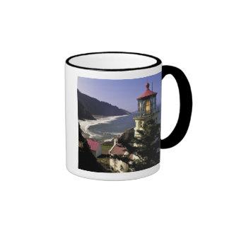 USA, Oregon, Florence. Heceta Head Lighthouse Ringer Mug