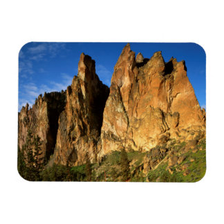 USA, Oregon, Granite Cliffs At Smith Rock State Magnet