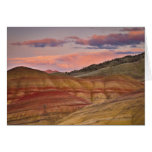 USA, Oregon, Mitchell, Painted Hills during 2 Greeting Card