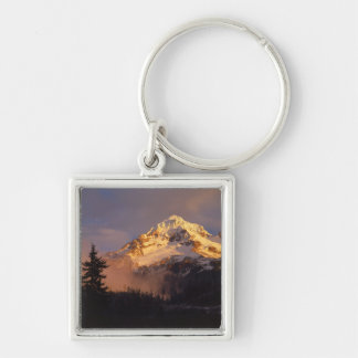 USA, Oregon, Mt. Hood National Forest. Rolling Keychains