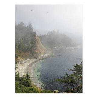 USA, Oregon, Ocean View, Cape Arago, Bandon Postcard