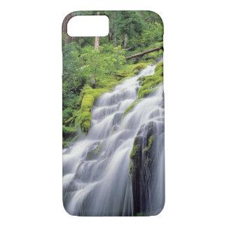 USA, Oregon, Proxy Falls. Proxy Falls rushes iPhone 7 Case