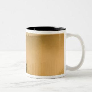 USA, Oregon, Seneca, Ponderosa Ranch. 2 Two-Tone Coffee Mug