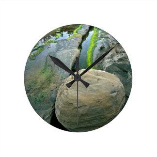 USA, Oregon, Shore Acres State Park Round Clock