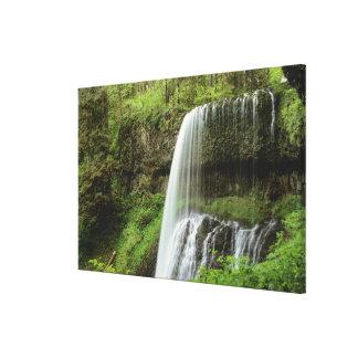 USA, Oregon, Silver Falls State Park. Lower Canvas Prints