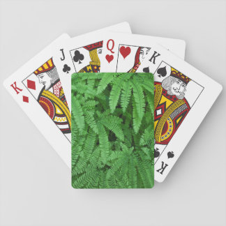 USA, Oregon, Silverton. Maidenhair Ferns Playing Cards