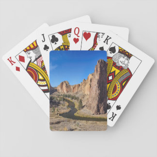 USA, Oregon, Smith Rock State Park Poker Deck