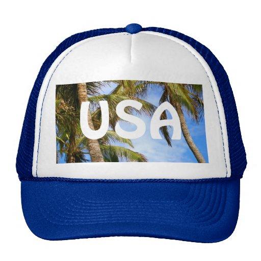 USA Palm Tree Hat