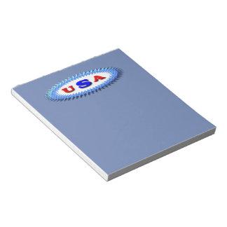 USA patch Notepad