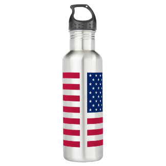 USA Patriotic American Flag Stripes Water Bottle 710 Ml Water Bottle