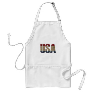 USA Patriotic Standard Apron