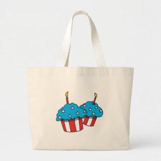 USA patriotic cupcakes Bag