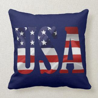 USA Patriotic Cushion