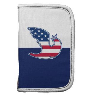 USA Patriotic Design Gift Folio Planner