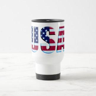 USA Patriotic Flag Travel Mug