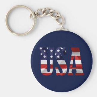 USA Patriotic Key Ring