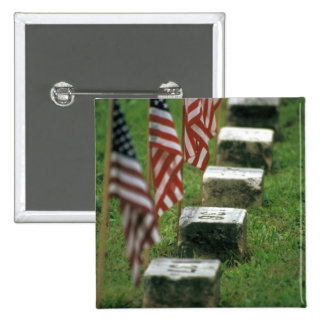 USA, Pennsylvania, Gettysburg. Civil war 15 Cm Square Badge