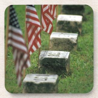 USA, Pennsylvania, Gettysburg. Civil war Beverage Coaster