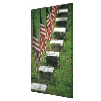 USA, Pennsylvania, Gettysburg. Civil war Gallery Wrap Canvas