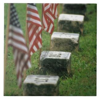 USA, Pennsylvania, Gettysburg. Civil war Large Square Tile