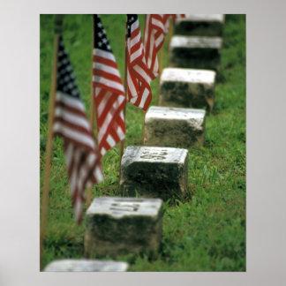 USA, Pennsylvania, Gettysburg. Civil war Poster