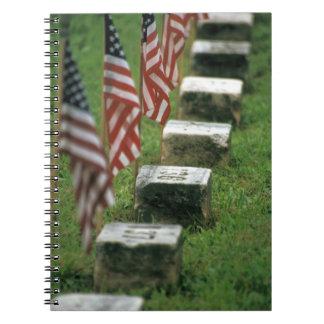 USA, Pennsylvania, Gettysburg. Civil war Spiral Note Book