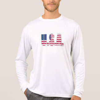 USA Performance Micro-Fiber Long Sleeve T-Shirt