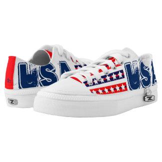 USA PRINTED SHOES