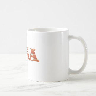 USA - Proud IDENTITY Sparkle RED ENERGY STRENGTH Coffee Mugs