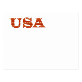 USA - Proud IDENTITY Sparkle RED ENERGY STRENGTH Postcard