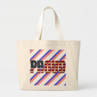 Usa proud large tote bag