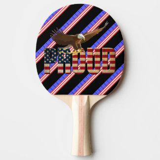 Usa proud ping pong paddle