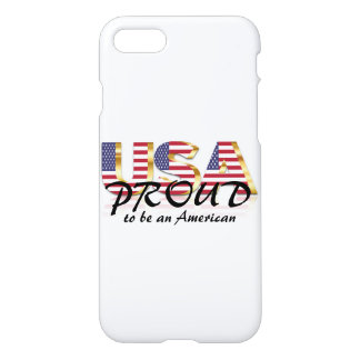 USA Proud to be an American Patriotic iPhone 8/7 Case