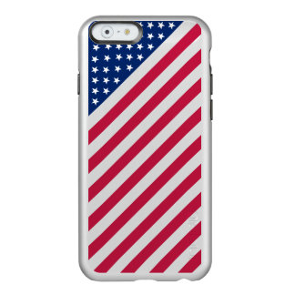 USA Red Blue White Stripes Stars Flag iPhone6 Case Incipio Feather® Shine iPhone 6 Case