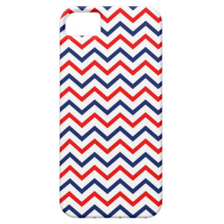 USA Red White and Blue Chevron Iphone Case iPhone 5 Covers