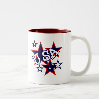 USA Red White and Blue Tshirts and Gifts Coffee Mugs