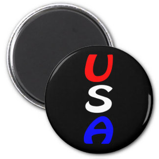 USA Red, White & Blue Magnet
