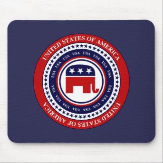 USA Republican Mousepad