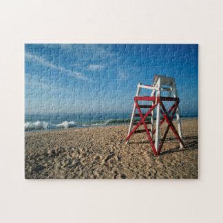 USA, Rhode Island, Charleston Beach, Beachfront Jigsaw Puzzle